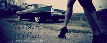 Two Black Cadillacs Banner