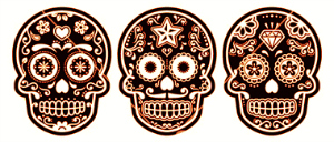 mexican-sugar-skull-dia-de-los-muertos-black-icon-vector-2074353
